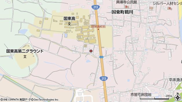 大分県国東市国東町鶴川2015周辺の地図
