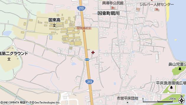 大分県国東市国東町鶴川1764周辺の地図