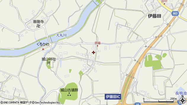 大分県中津市伊藤田1094周辺の地図