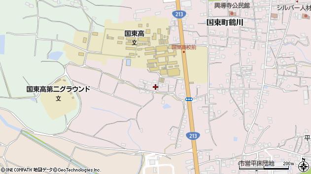 大分県国東市国東町鶴川2005周辺の地図