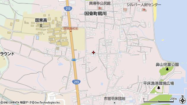 大分県国東市国東町鶴川1486周辺の地図