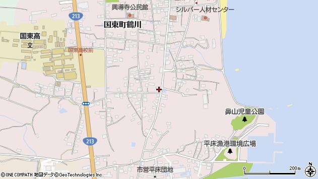 大分県国東市国東町鶴川1158周辺の地図
