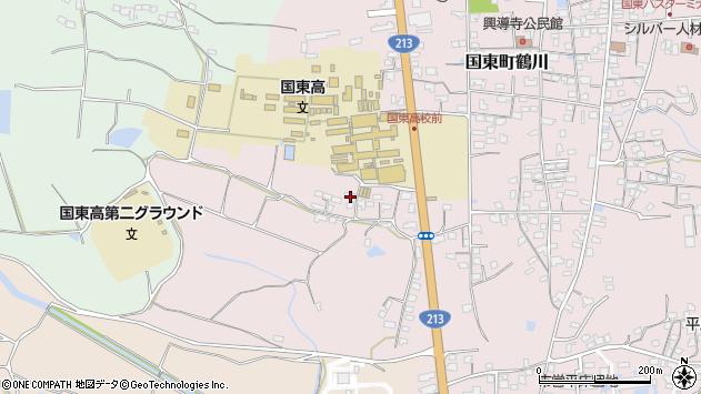 大分県国東市国東町鶴川2004周辺の地図
