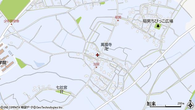 大分県中津市加来903周辺の地図