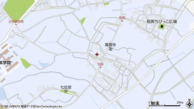 大分県中津市加来902周辺の地図