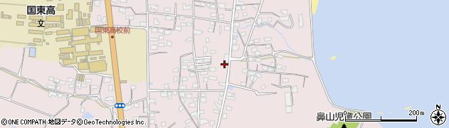 大分県国東市国東町鶴川1163周辺の地図