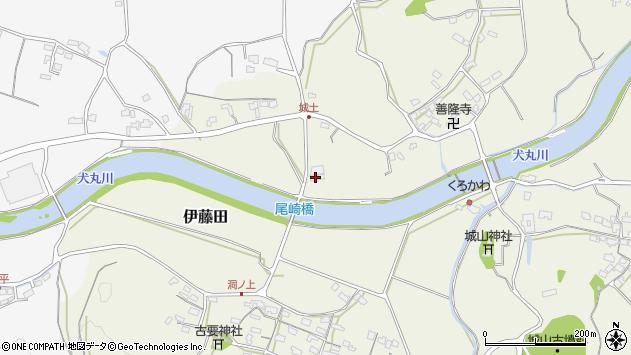 大分県中津市伊藤田3630周辺の地図