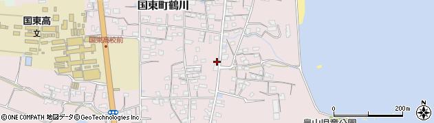 大分県国東市国東町鶴川1168周辺の地図