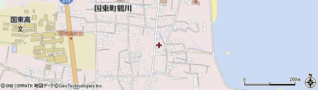 大分県国東市国東町鶴川814周辺の地図