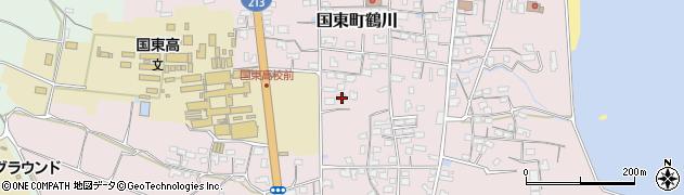大分県国東市国東町鶴川1450周辺の地図
