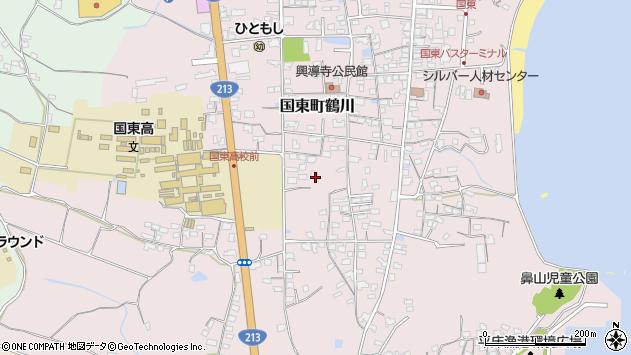 大分県国東市国東町鶴川1454周辺の地図