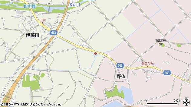 大分県中津市伊藤田1988周辺の地図