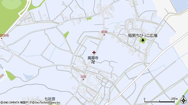 大分県中津市加来634周辺の地図