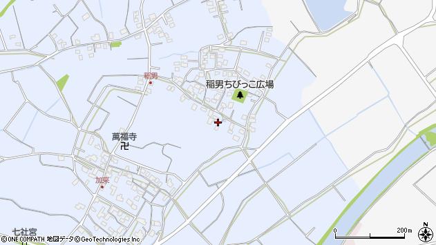 大分県中津市加来250周辺の地図