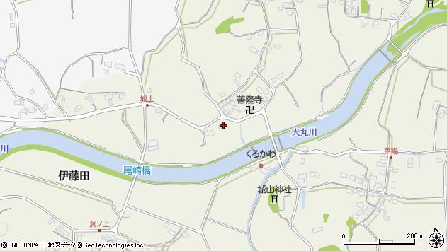大分県中津市伊藤田3590周辺の地図
