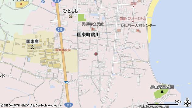 大分県国東市国東町鶴川1462周辺の地図