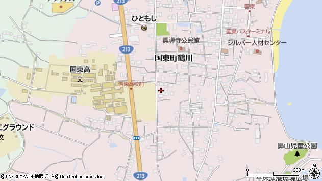 大分県国東市国東町鶴川1441周辺の地図