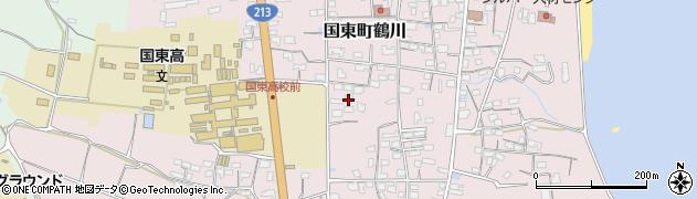 大分県国東市国東町鶴川1447周辺の地図