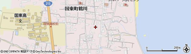大分県国東市国東町鶴川1190周辺の地図