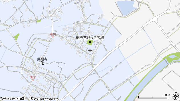 大分県中津市加来273周辺の地図
