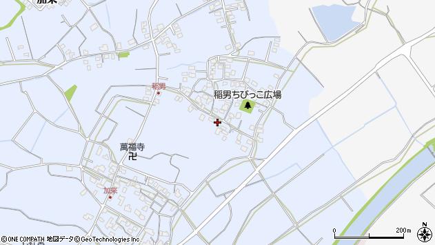 大分県中津市加来248周辺の地図