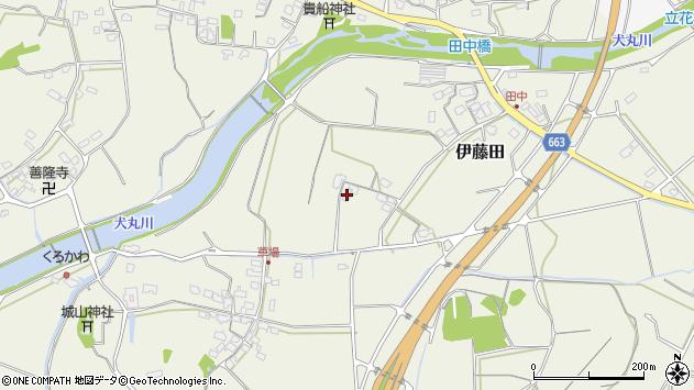 大分県中津市伊藤田1769周辺の地図