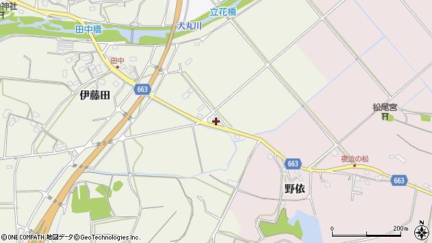 大分県中津市伊藤田2167周辺の地図