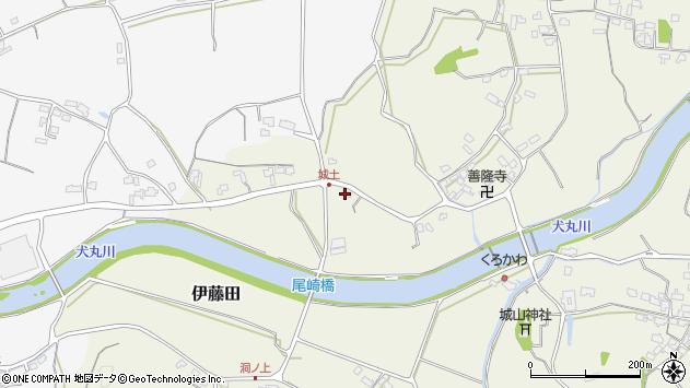 大分県中津市伊藤田3623周辺の地図