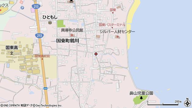 大分県国東市国東町鶴川739周辺の地図