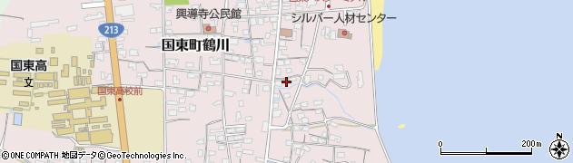 大分県国東市国東町鶴川737周辺の地図
