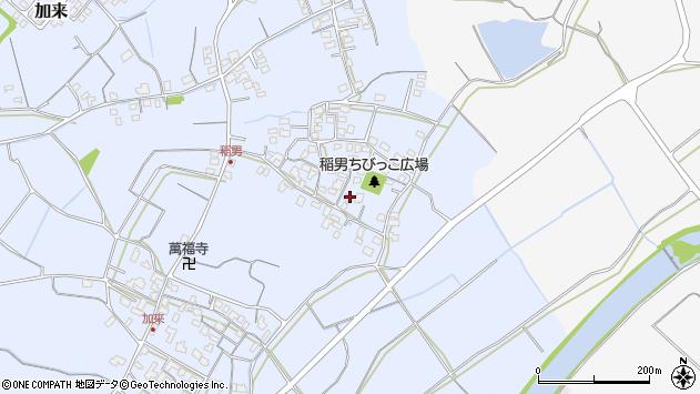 大分県中津市加来280周辺の地図