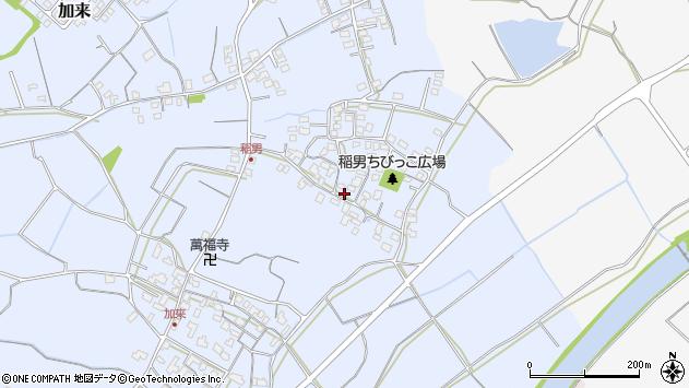 大分県中津市加来285周辺の地図