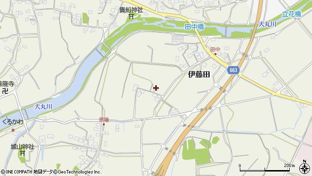 大分県中津市伊藤田1747周辺の地図