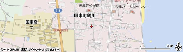 大分県国東市国東町鶴川1429周辺の地図