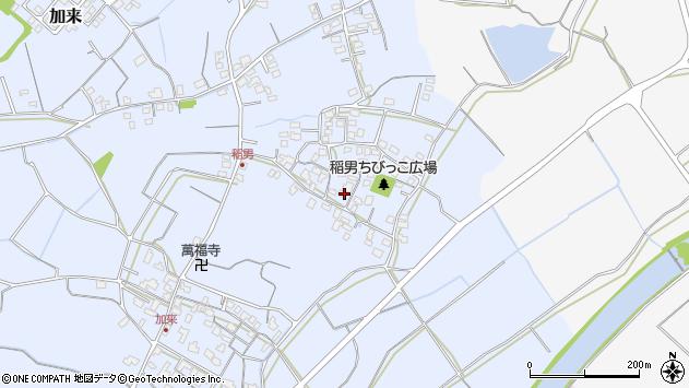 大分県中津市加来284周辺の地図