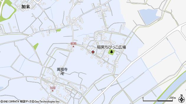大分県中津市加来408周辺の地図