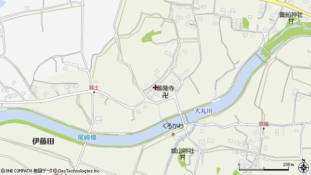 大分県中津市伊藤田3455周辺の地図