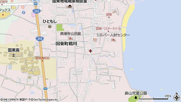 大分県国東市国東町鶴川1197周辺の地図