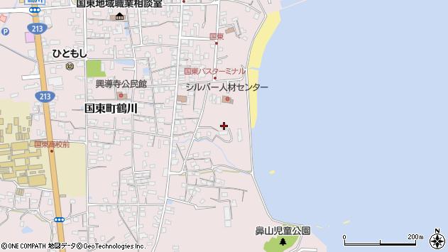大分県国東市国東町鶴川685周辺の地図