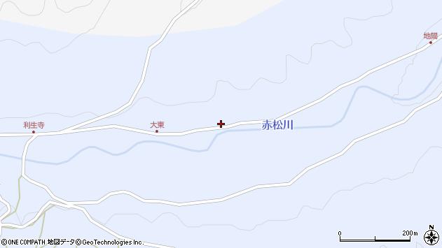 大分県国東市国東町赤松445周辺の地図