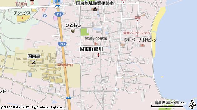 大分県国東市国東町鶴川1427周辺の地図