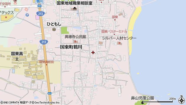 大分県国東市国東町鶴川1216周辺の地図