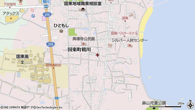 大分県国東市国東町鶴川1217周辺の地図