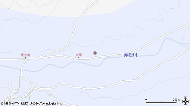 大分県国東市国東町赤松478周辺の地図
