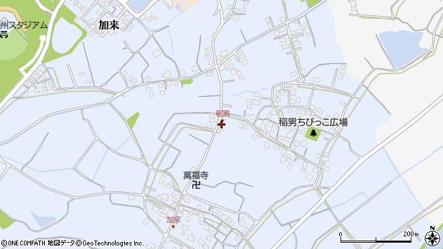 大分県中津市加来212周辺の地図
