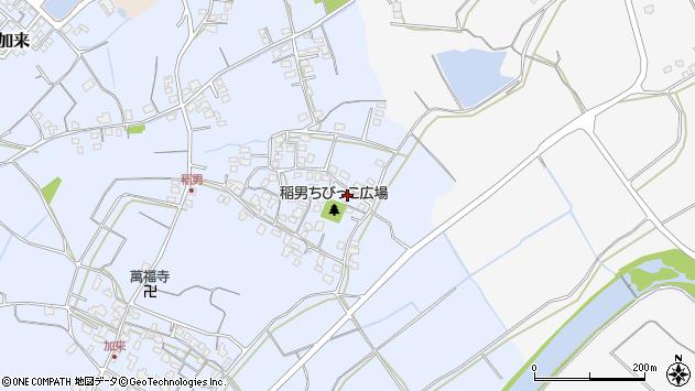 大分県中津市加来321周辺の地図