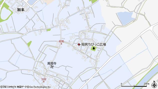 大分県中津市加来407周辺の地図