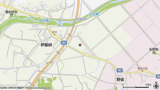 大分県中津市伊藤田2172周辺の地図