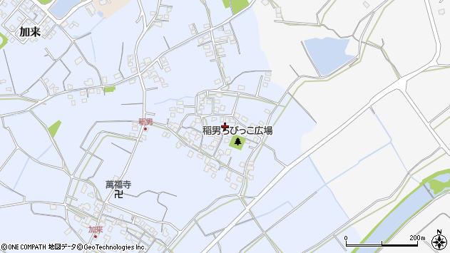 大分県中津市加来296周辺の地図