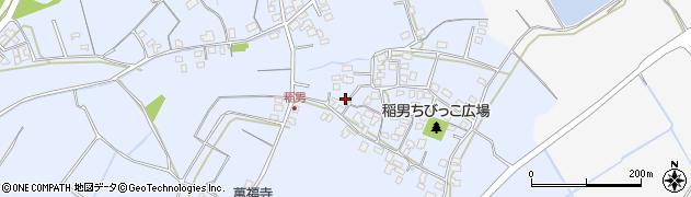 大分県中津市加来413周辺の地図
